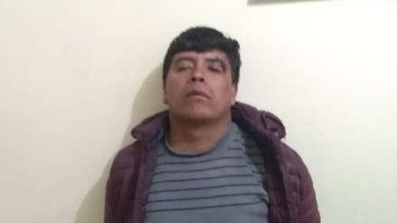 Policía detuvo a Edison Vargas, vicepresidente de la comunidad de Fuerabamba