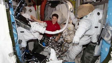 Primera caminata espacial femenina fue cancelada por sugerencia de una de las astronautas