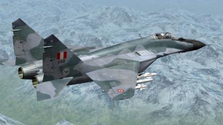Un caza MiG-29 de la Fuerza Aérea cayó en Chiclayo