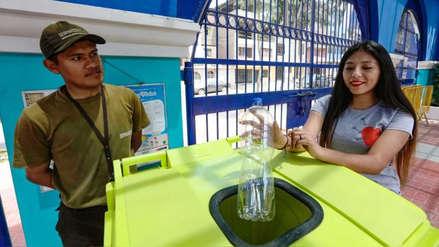 Vecinos podrán ingresar gratis a parques zonales reciclando botellas de plástico