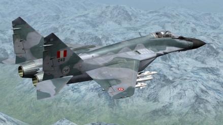 Estas son las primeras imágenes del caza MiG-29 que se estrelló en Chiclayo tras el accidente [VIDEO]