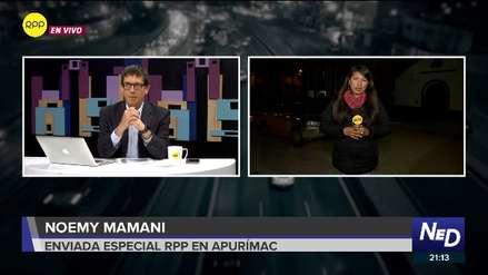 Las Bambas | Comuneros mantienen medida de protesta y esperan llegada de su dirigente Gregorio Rojas