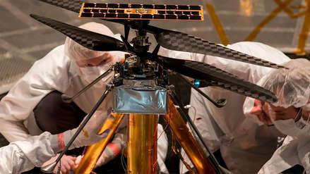 La NASA puso a prueba el helicóptero que volará en Marte