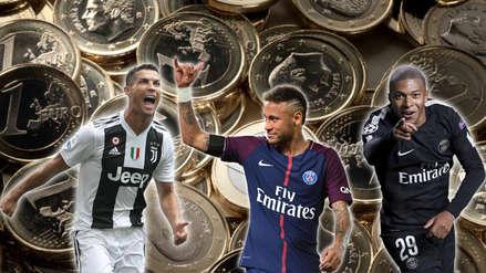 Cristiano Ronaldo y Neymar: el once más caro del fútbol que supera los mil millones de euros