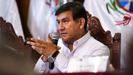 Morán descarta agresión por parte de la Policía contra vicepresidente de Fuerabamba
