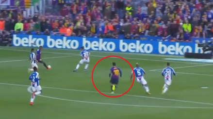 Lionel Messi anotó golazo de zurda en primera en el triunfo de Barcelona ante Espanyol