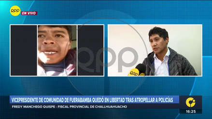 Vicepresidente de Fuerabamba podría ser investigado por tentativa de homicidio, según fiscal