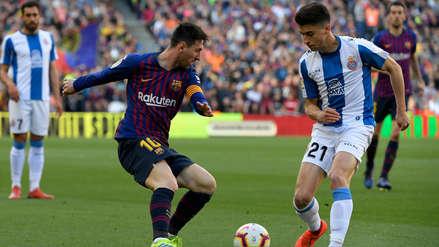 ¡Humillación! La gambeta de Lionel Messi que dejó muy mal parado a un jugador del Espanyol
