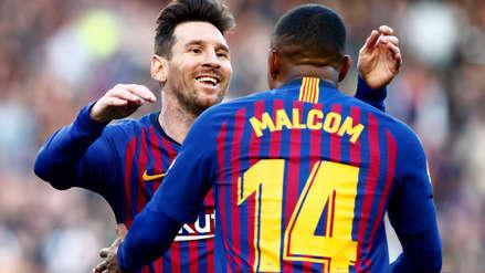 Barcelona derrotó 2-0 al Espanyol en el Camp Nou con doblete de Lionel Messi