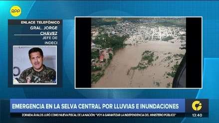 Indeci: Cuatro muertos y 500 familias damnificadas deja emergencia en selva central