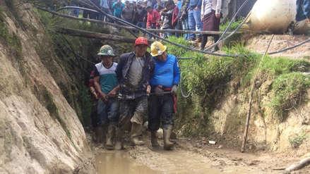 Ocho mineros mueren asfixiados en socavón en Huamachuco
