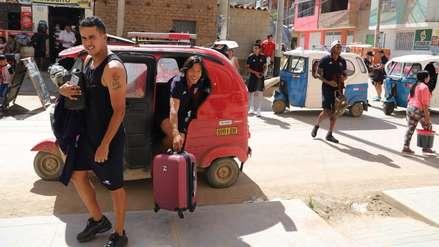 ¡Insólito! Jugadores llegaron en mototaxis al estadio previo al partido Alianza Universidad vs. Pirata FC