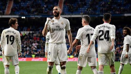 El golazo de Karim Benzema que salvó al Real Madrid de un papelón ante el Huesca