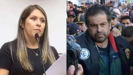 Yeni Vilcatoma visitó en prisión a Martín Belaúnde Lossio hasta en cuatro ocasiones