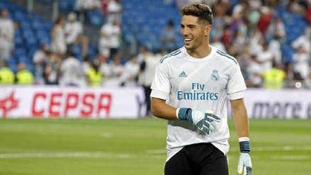 Zinedine Zidane sorprendió al incluir a su hijo en el arco del Real Madrid