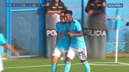 La lección de contragolpe que dio Sporting Cristal en el segundo gol ante Municipal