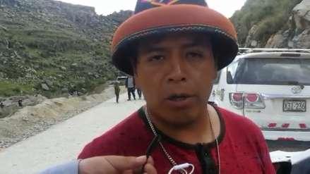 Dirigente de Fuerabamba: No reconoceremos acuerdos entre presidente de la comunidad y la PCM