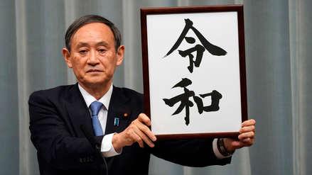 Japón anunció el nombre de la nueva era que marcará el reinado del emperador Naruhito