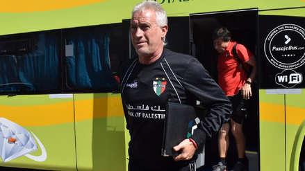 Entrenador de Palestino calentó la previa del partido ante Alianza Lima por Copa Libertadores