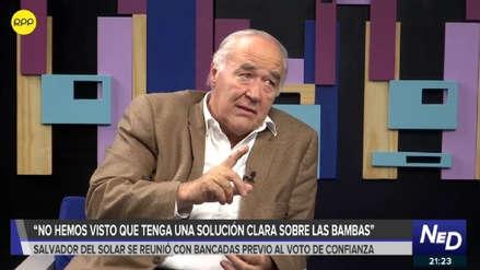 García Belaúnde plantea comisión investigadora para consultorías al Gobierno de Vizcarra