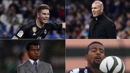 Real Madrid: Luca Zidane y los futbolistas que han sido dirigidos por sus padres