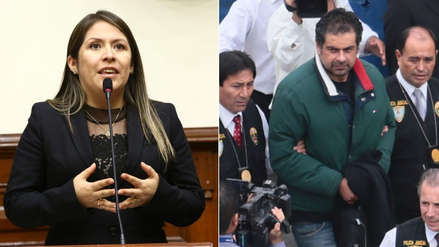 Congresistas piden que Yeni Vilcatoma explique el motivo de sus visitas en prisión a Martín Belaúnde Lossio