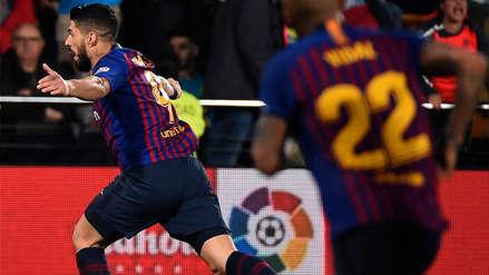 ¡Sobre el final! El golazo de Luis Suárez que le dio el empate al Barcelona contra Villarreal