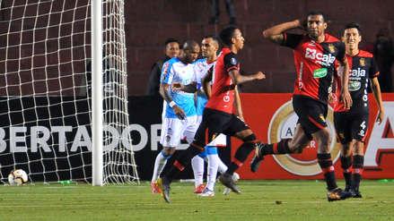 Melgar vs. Junior: Giancarlo Carmona marcó el gol del triunfo tras tiro de esquina de Alexi Gómez