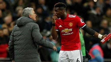 Mourinho cuestionó a Pogba: