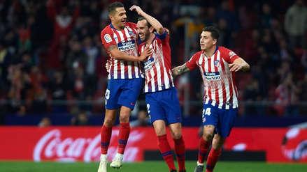 ¡Gracias al VAR! Gol de Diego Godín ante Girona fue validado tras un supuesto offside de Antoine Griezmann