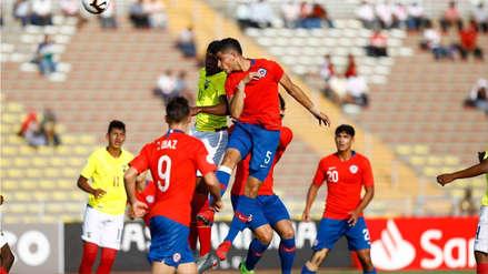 Chile ganó 1-0 a Ecuador en la primera fecha del hexagonal final del Sudamericano Sub 17