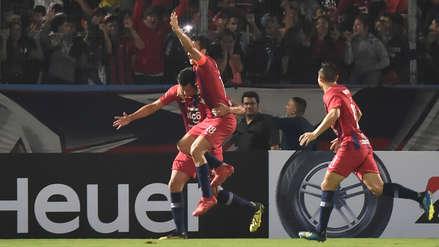 Cerro Porteño ganó 1-0 a Atlético Nacional por la fecha 3 de la Copa Libertadores