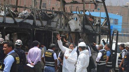 Fiori | Audiencia de prisión preventiva contra chofer y copiloto de bus incendiado será este jueves