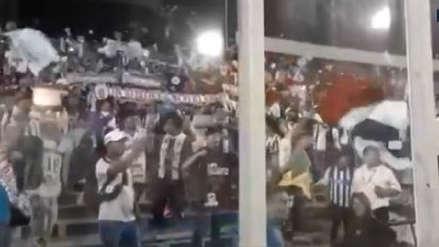 ¡Se sienten locales! Una gran cantidad de hinchas de Alianza Lima asistieron al partido ante Palestino