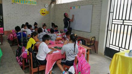 Lambayeque | Escolares reciben sus clases en viviendas