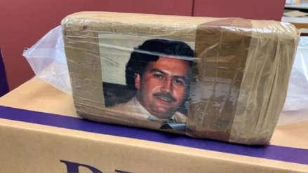 La DEA decomisó un cargamento de heroína marcado con la foto de Pablo Escobar