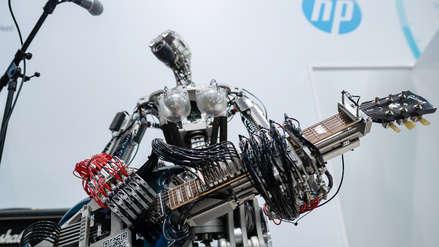 Fotos | Guitarristas y subacuáticos: lo nuevo en robots
