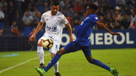 Emelec perdió 1-0 ante Cruzeiro por la fecha 3 del grupo B de la Copa Libertadores 2019