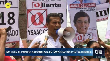 Defensa de Ollanta Humala anuncia acción de amparo tras inclusión de Partido Nacionalista en caso Odebrecht