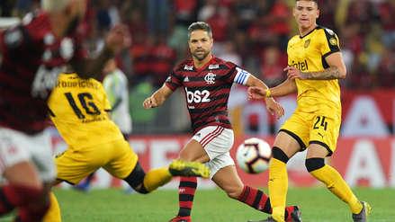 Peñarol ganó 1-0 a Flamengo en el Maracaná por la fecha 3 de la Copa Libertadores 2019