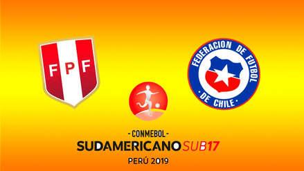 Perú vs. Chile: revive el minuto a minuto del partido por el hexagonal final del Sudamericano Sub 17
