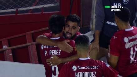 Binacional y el mal despeje que le costó recibir el primer gol de Independiente