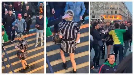 Indignación por agresión a una mujer transgénero en una calle de París