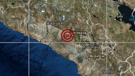 Arequipa | Un sismo de magnitud 4.1 sacudió Yura esta tarde
