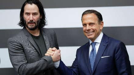 Keanu Reeves visita Latinoamérica para negociar detalles de la grabación de su nueva serie