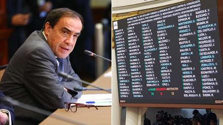 Estos son los congresistas que se abstuvieron en la votación para suspender a Lescano