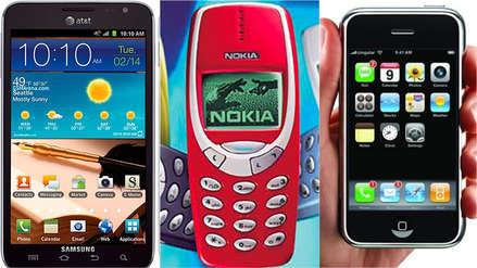 30 modelos de celular que nunca olvidaremos