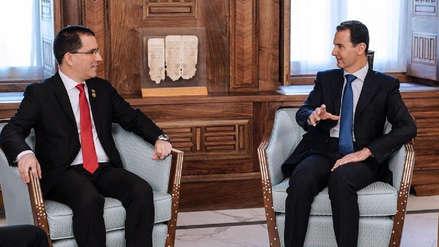 Canciller Jorge Arreaza compara la situación de Venezuela con Siria