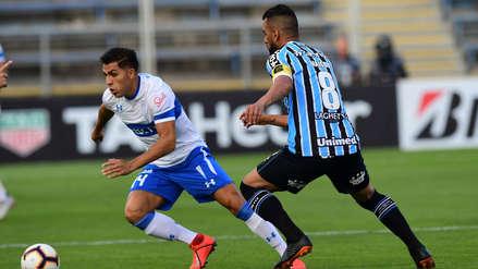 Universidad Católica venció 1-0 a Gremio por el Grupo H de la Copa Libertadores