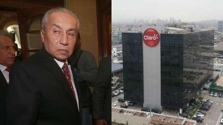 Pedro Chávarry | Fiscalía realizó diligencia en oficinas de Claro por ingreso a oficina lacrada
